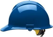 Bullard Cap Style Hard Hat with 6 Point Ratchet Suspension, Blue