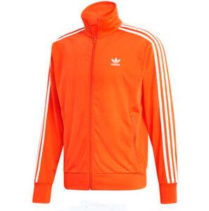 adidas Originals Men's Orange Firebird Track Jacket ED6074