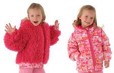 NEW Spyder Kids Bitsy High-Pile Reversible Fleece Jacket Size 6 Girls, NWT