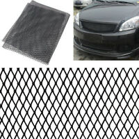 100cm x 33cm Aluminium Racing Grille Mesh Vent Car Tuning Grill Argent/Noir FR