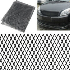 Aluminium Racing Grille Mesh Vent Car Tuning Grill Black/Silver Size 100x33cm