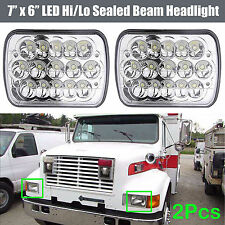 "For International Harvester 9200 9400 9900 H6014 / H6052 7''x6"" LED Headlights"