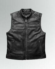 Leather Vest For Harley Davidson Passing Link || Men's Biker & Motorcycle Vest