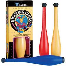Professional Juggling Club Set - Circus Clown Precise Juggle Clowns Fun