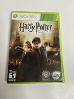 Harry Potter and The Deathly Hallows Part 2 - Xbox 360 Complete with Manual