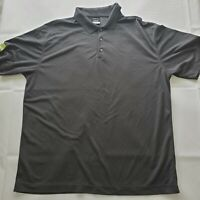 NIKE GOLF DRI-FIT POLO SHIRT Mens Gray with HHCP Arm Logo size XL