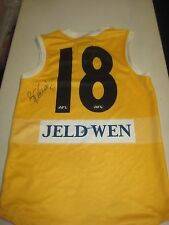 St Kilda - Brendon Goddard - signed player issue/training jersey - Used.