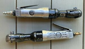 """2 CENTRAL PNEUMATIC AIR RATCHETS, 1/2"""" and 3/8"""""""