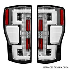 Recon 264299CL OLED Tail Lights Clear Lens For Ford Superduty F250 17-18 2Pc NEW