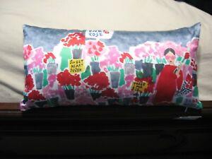 NWT Kate Spade Flower Market Silk Throw Pillow