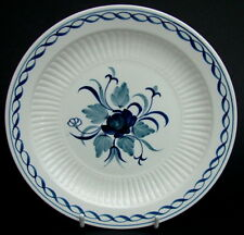 Adams Blue Baltic Pattern Lg Side or Bread Size Plates 17.75cm  Dia Look in VGC