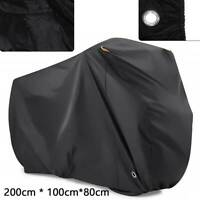 Motorcycle Cover Waterproof Outdoor Bike Scooter Dust Rain Cover Heavy Duty XL