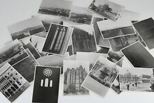 Lot of 32 Original Black & White European Cities with Photographer Notes on Back