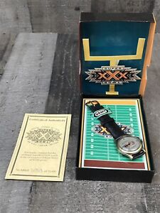 1995 Kraft Super Bowl XXX 30 Watch - Dallas Cowboys vs Pittsburgh Steelers - G2