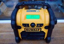 💛 DeWALT® DCR020 - GB 18V XR Compact Digital DAB Radio 240V 10.8 - 18V