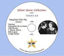 "DVD ""Daughters Who Pay"" (1925) Marguerite De La Motte, Bela Lugosi,Classic Drama"
