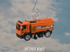Orange Street Cleaner Sweeper Custom Christmas Ornament 1/64th Scale Adorno NEW!