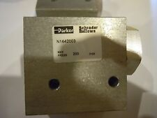 Parker Schrader Bellows  N1642003 Selector shuttle valve 1/4