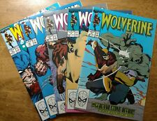 Lot of 5 1989 Wolverine, #14, 15, 16, 18, and 19   All Very Clean Copies