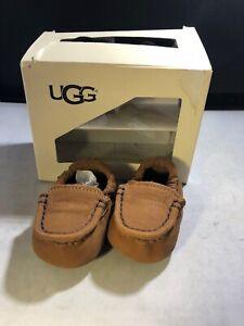 Ugg Australia Infant Sivia Slip On Chestnut Size 0/1 # 1017192 (910)