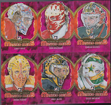 12-13 ITG Dan Bouchard Masked Men 5 Rainbow Between The Pipes Flames 2012