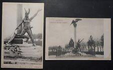 TORINO - MONUMENTO UMBERTO I° SAVOIA + PARTICOLARE - 1902