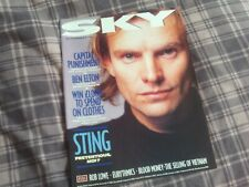 Sky Magazine #15 Sting Rob Lowe Eurythmics 05/11-18/11 November 1987 VGC