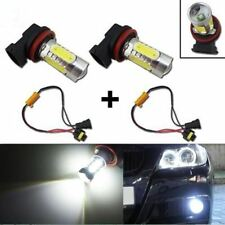 H11 CREE COB  FOG LIGHT LED BULBS XENON WHITE CANBUS 360° + RESISTORS x2pc UK