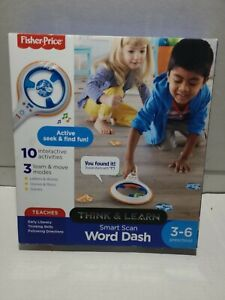 Fisher-Price Think & Learn Smart Scan Word Dash New In Box 3 - 6 Preschool