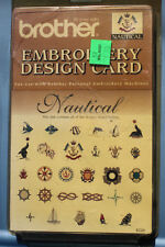 BROTHER Machine Embroidery Design Boutique Card EC22 NAUTICAL New Factory Sealed