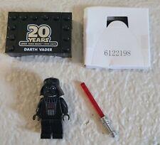 Lego Star Wars 20th Anniversary Edition Darth Vader Minifigure w/ stand NEW!!