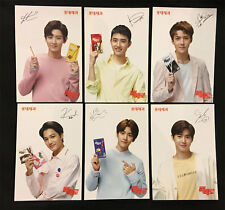 EXO PEPERO OFFICIAL PHOTO CARD SET (6PCS) from KOREA
