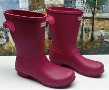 Hunter Original Short Back Adjustable Rain Boots - Size US 10 - $150