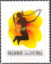 Iceland 2008 Youth Stamp/Girl/Skipping/Games 1v s/a (is1064)