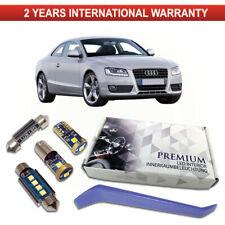 Audi A5 B8 S5 RS5 LED Interior Premium Kit 12 SMD Bulbs White Error Free