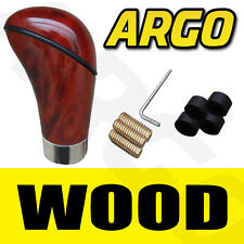 Madera Lustre Nogal Gear Stick Perilla Cambio Coche van Manual Leaver Shifter Stick