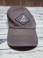 Sperry Top Sider Strapback Dad Hat  Slouch Cap Adjustable Logo