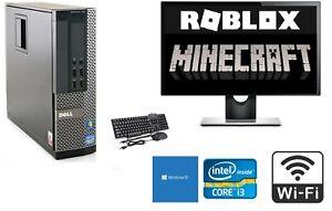 FAST i3 GAMING PC BUNDLE FULL SET COMPUTER INTEL i3 500GB 8GB WIFI ROBLOX