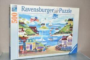 RAVENSBURGER SOFT CLICK 500 PIECE JIGSAW LOVELY SEASIDE