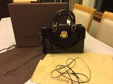 Louis Vuitton  authentic amarande vernis melrose avenue purse with box dust bag