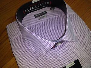 NWT, $50. Mens Van Heusen Flex Collar Classic, Regular & Slim Fit  Dress Shirts