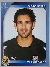 Panini 520 Diego Lopez Villarreal CF UEFA CL 2008/09