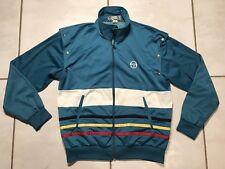 Rare Vintage SERGIO TACCHINI Snap Off Sleeves Track Jacket Men's SIZE 42