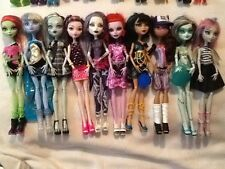 PICK YOUR OWN MONSTER HIGH DOLL 10 DIFFERENT TO CHOOSE FROM BEAUTIFUL DOLLS (B)