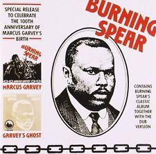 Burning spear-Marcus Garvey/Garvey 's Ghost Island records CD