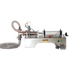 Two Double  Nozzles Pneumatic Liquid Filling Machine 50-500ml for Liquid