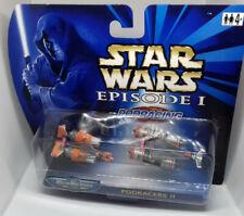Star Wars Galoob 1999 MICRO MACHINES - PODRACERS II - two pack