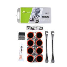 RockBros 8 Rustines kit de Réparation Vélo & Lime Métal & colle & 2 leviers