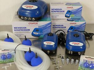 Osaga MK 9501 9502 9510 Sauerstoffpumpe Luftpumpe Teich-Belüfter-Pumpe Membranen