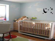 MOON AND STARS Nursery Baby Kids  Room Wall Art Decal